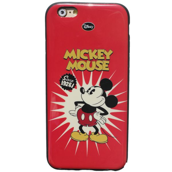 """Купить Резиновый чехол для iphone 6 Disney """"Mickey Mouse"""""""
