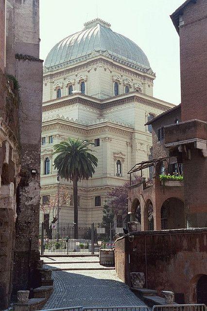 Rome, the Jewish Quarter.