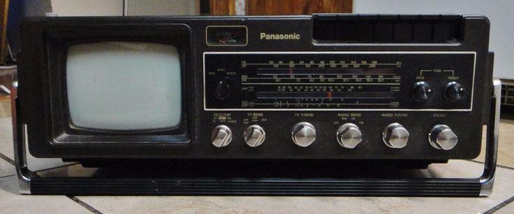 Vintage Panasonic T509 Portable TV, Radio and Cassette Player Japan     eBay