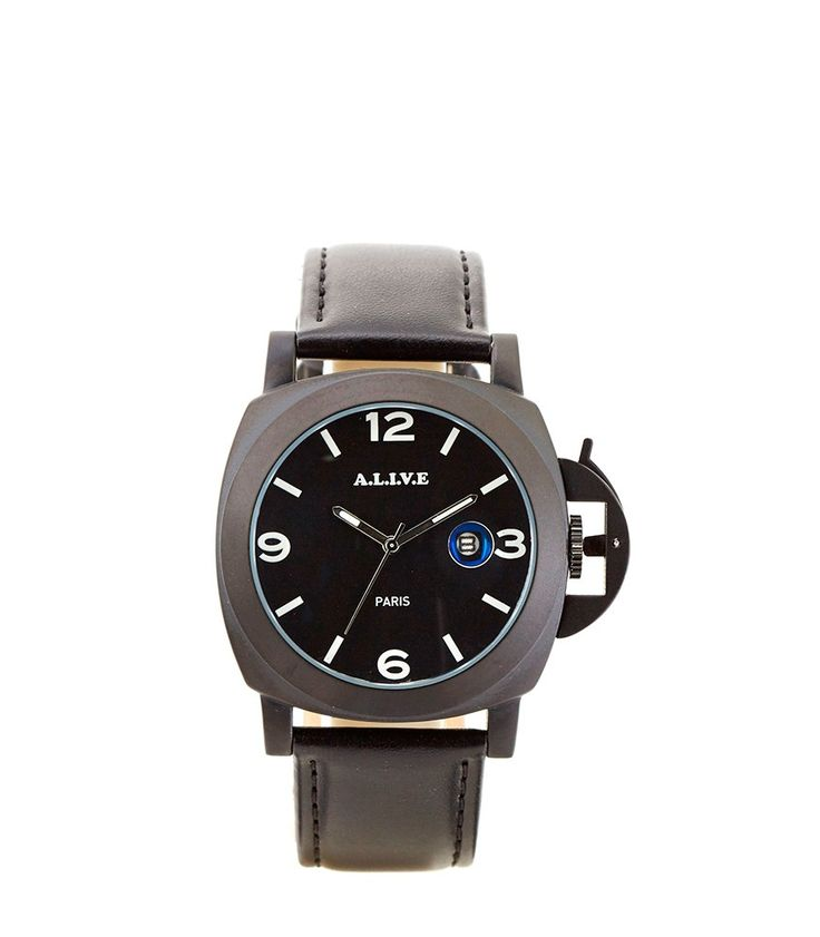 Wow! Look at this fabulous product! I've found at SophieParis.   http://www.sophieparis.com/id/index.php/men/watch/olie-black.html  #SophieParis