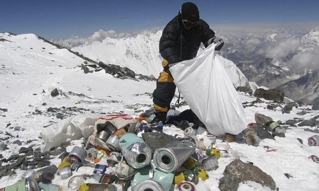 This epitomizes a massive pet hate of mine - rubbish left on the mountains and at crags. Whether its gel wrappers, bottles, old chalk bags or just waste paper - it has no place left in nature and I vehemently oppose it.