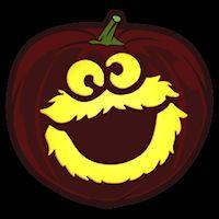 Best 25 cookie monster pumpkin ideas on pinterest for Monster pumpkin carving patterns