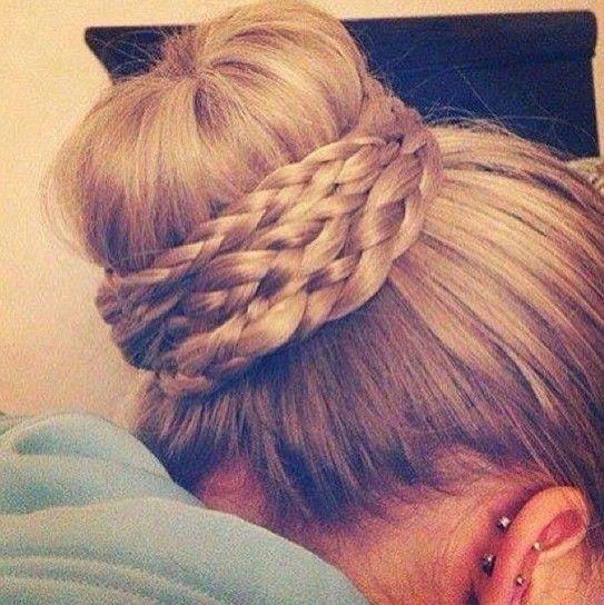 Cute Bun Hairstyles for Prom 2014