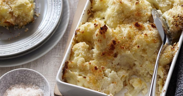 The best Baked cauliflower cheese gratin recipe you will ever find. Welcome to RecipesPlus.