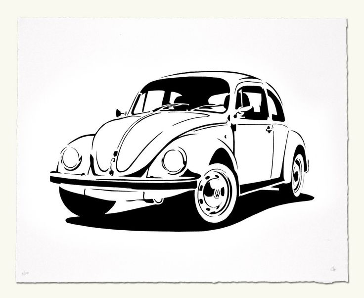 Vw Cartoon on volkswagen street rod