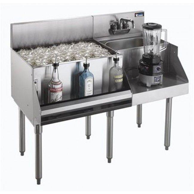 Luxury Ice Bin for Bar