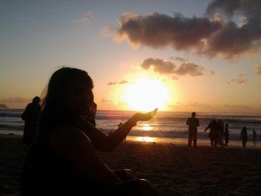 Hold the sun.. - Dreamland, Pecatu Bali