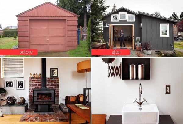 3 Cool Garage Transformations