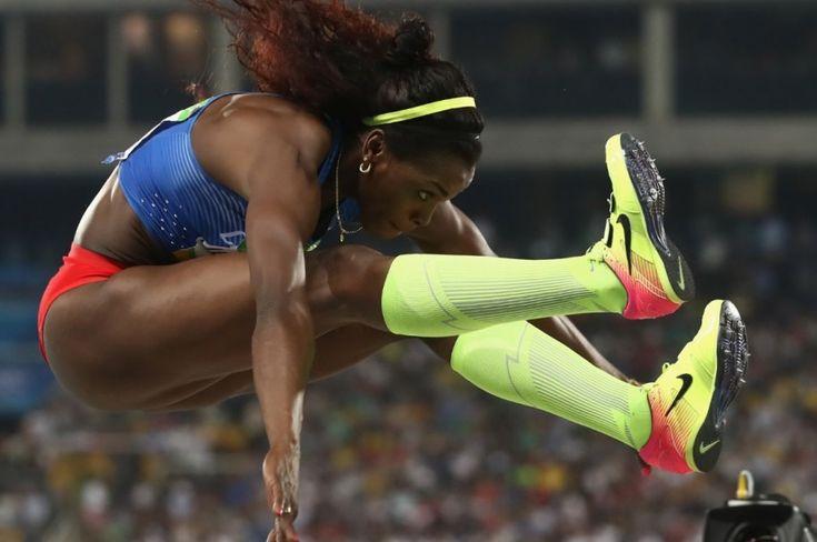 Caterine Ibargüen en los Olímpicos de Río