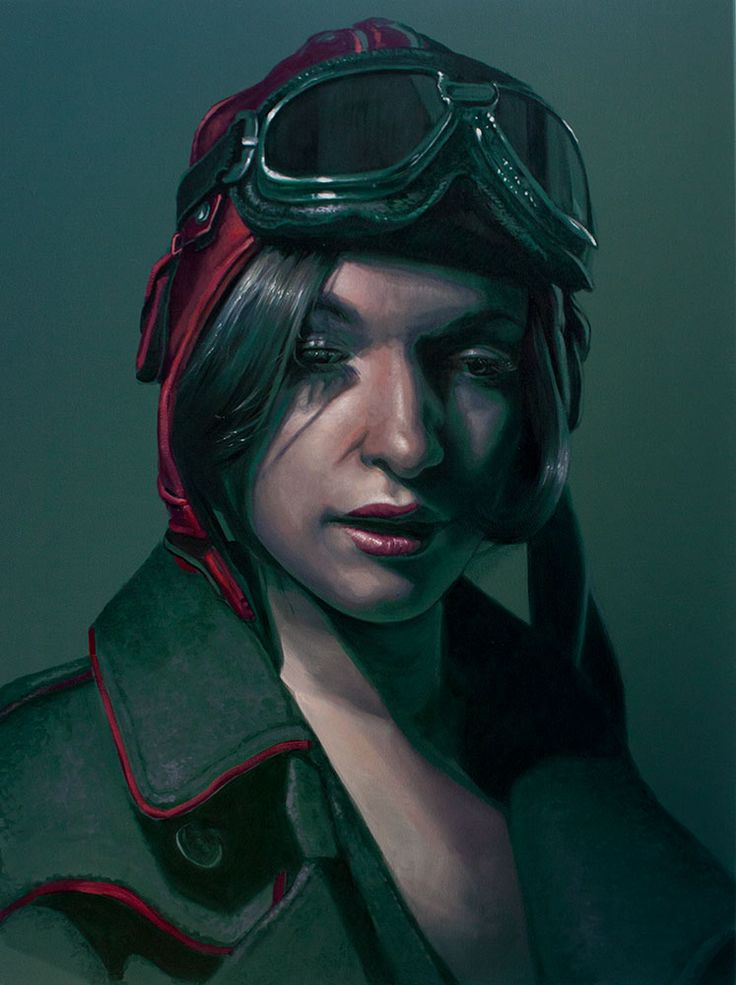 Kathrin Longhurst, Postcards from the Battlefield Gree, oil on canvas, 92x122cm