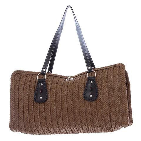Woven Beach Handbag