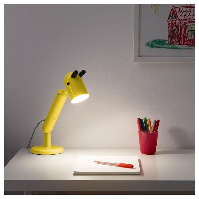 Krux Lampe De Bureau A Led Jaune Ikea Lampe De Bureau Lampe