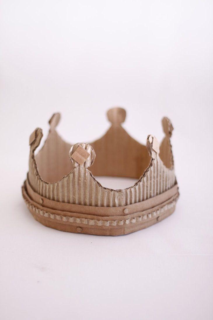 Everyone needs a cardboard crown