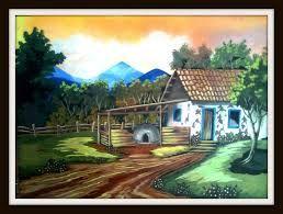 dibujos de paisajes tipicos costarricenses - Buscar con Google