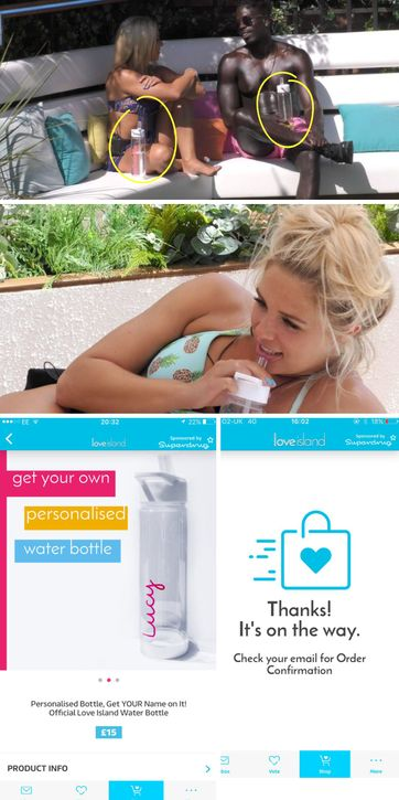Quick, grab yourself a Love Island Water Bottle!! Here's where we found the official merchandise!
