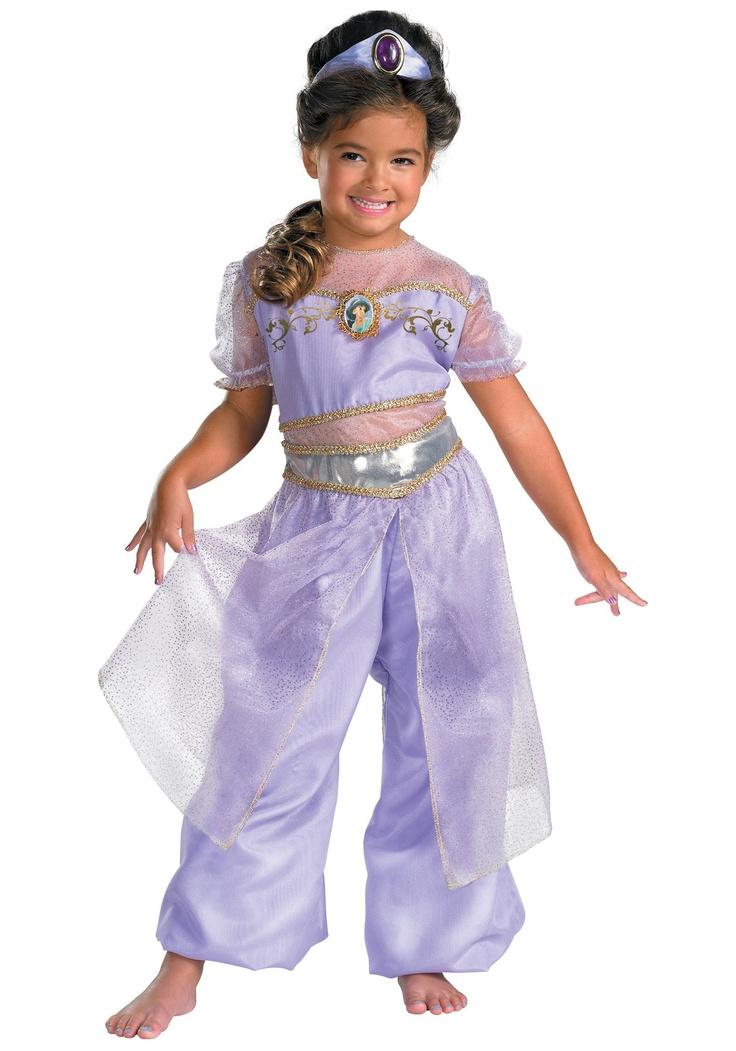 Kids Deluxe Jasmine Costume