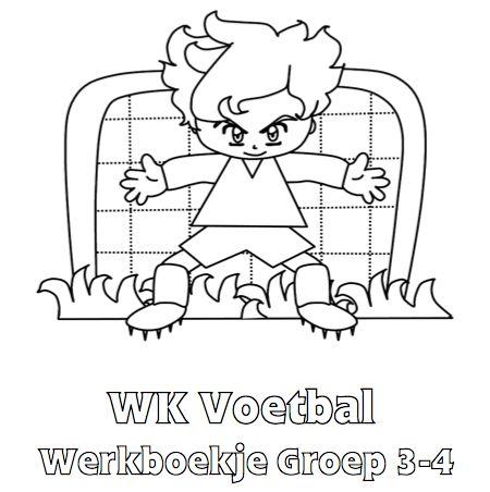 WK Voetbal Werkboekje Groep 3-4