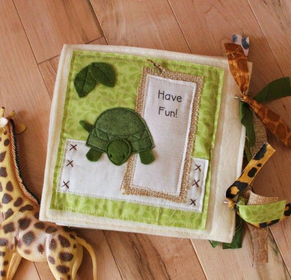 PATTERN for At The Zoo plush/quiet book  PDF by shelleywallace, $9.50