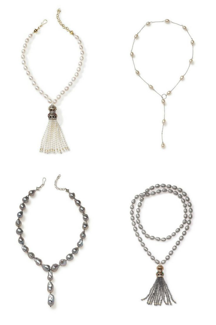 Pearl Necklaces for Women. Handcrafted in California