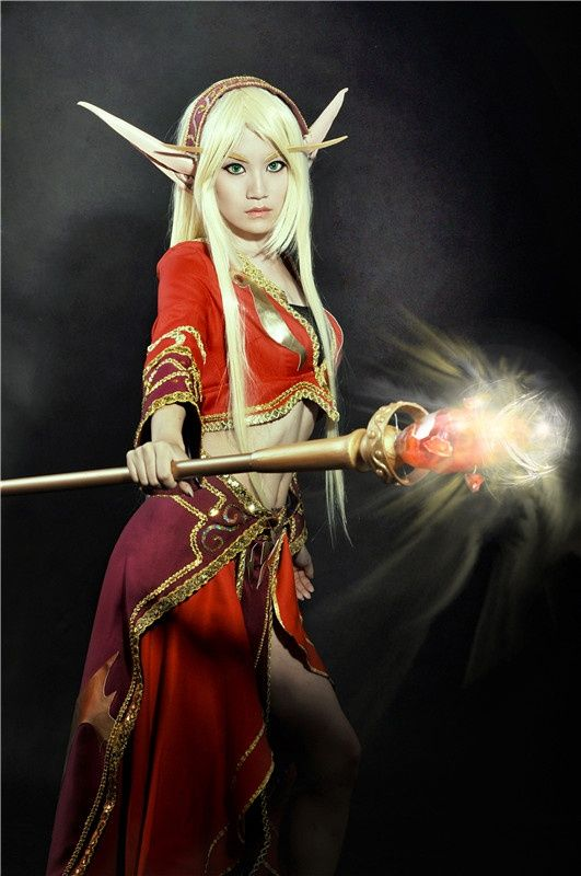 Blood elf mask