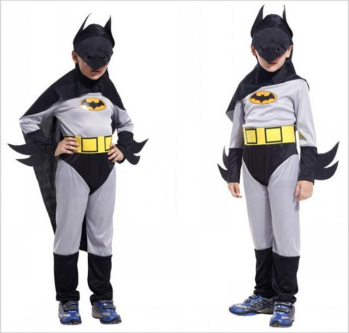 Retail New Halloween Christmas Costumes For Kids Boys Children Batman Costume Set Classic Party Children Cosplay Costumes Clothing Hc41 From Convoy, $14.39 | Dhgate.Com