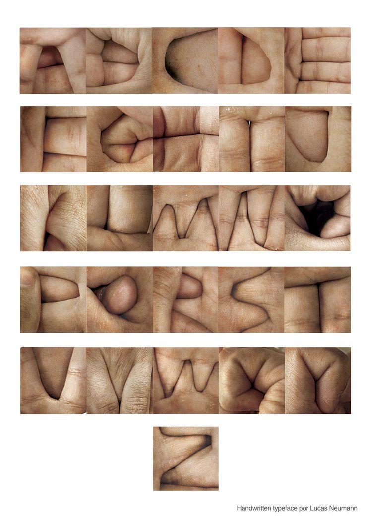 deviantart:  handwritten typeface by ~neumannbelieve