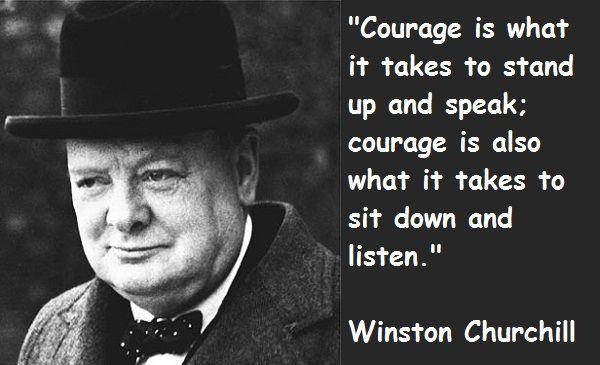 Historical Speeches Winston Churchill   Winston Churchill quotes: