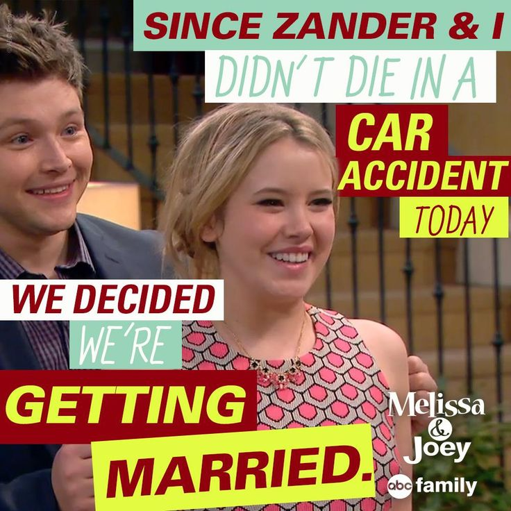 "S4 Ep22 ""Double Happiness"" - That's one way to spend your day! #MelissaandJoey #MelissaandJoeyChat"