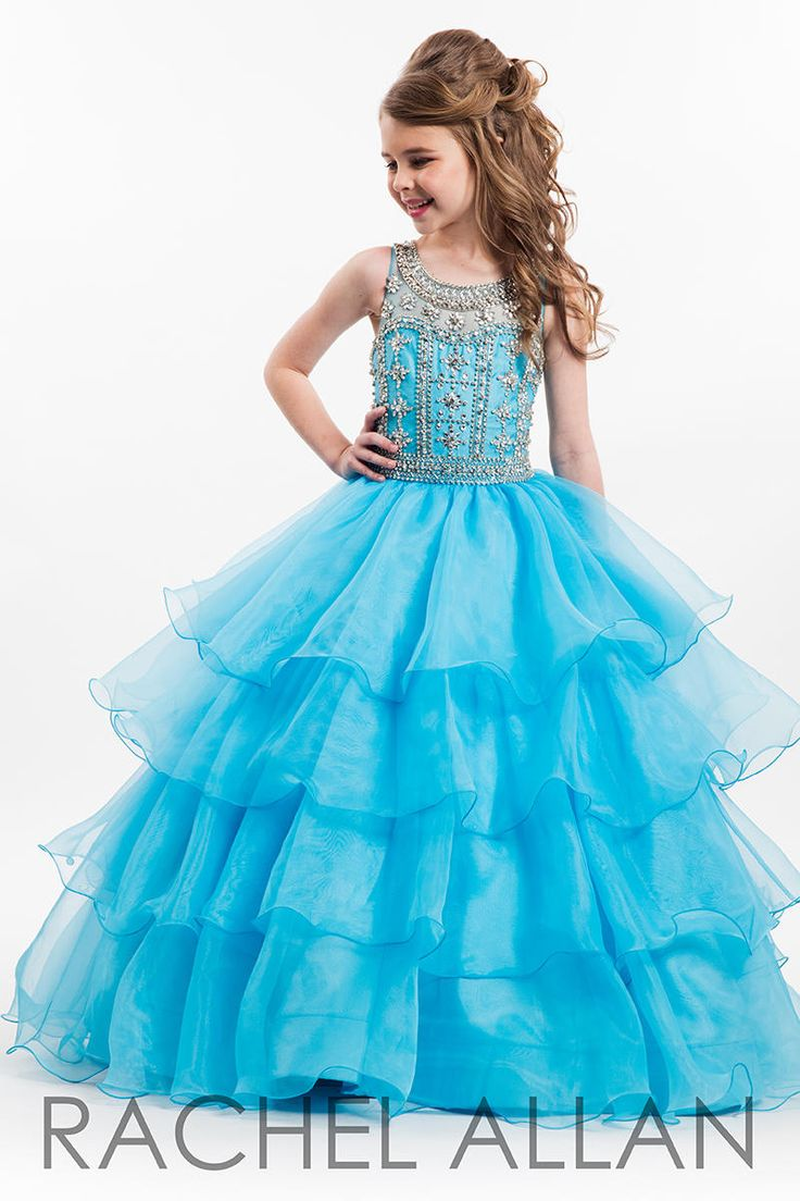 251 best Little Girl\'s Pageant Dresses images on Pinterest | Party ...