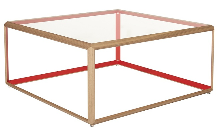 TAVOLINO COFFEE TABLE RED