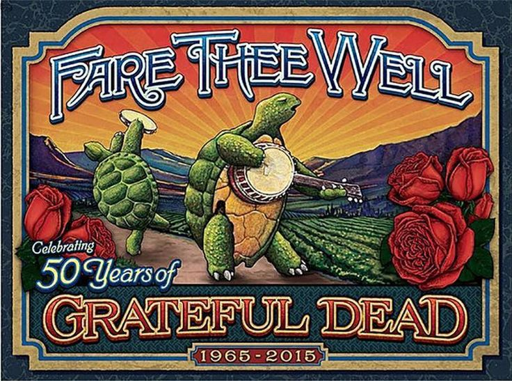 Grateful Dead Fare Thee Well 50 Tour 15 Carroll - 1st