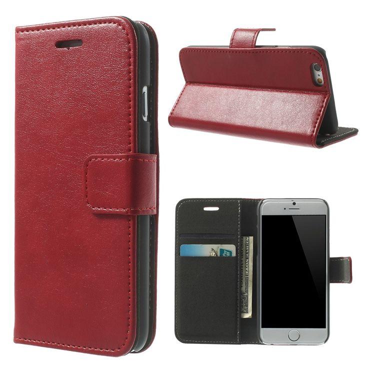 Javu - iPhone 6 / 6s Hoesje - Wallet Case Cabello Rood | Shop4Hoesjes