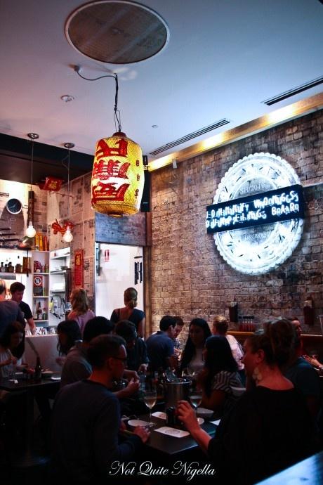 Mmmm dumprings!! Johnny Wongs Dumpling Bar - Bourke St, Darlinghurst