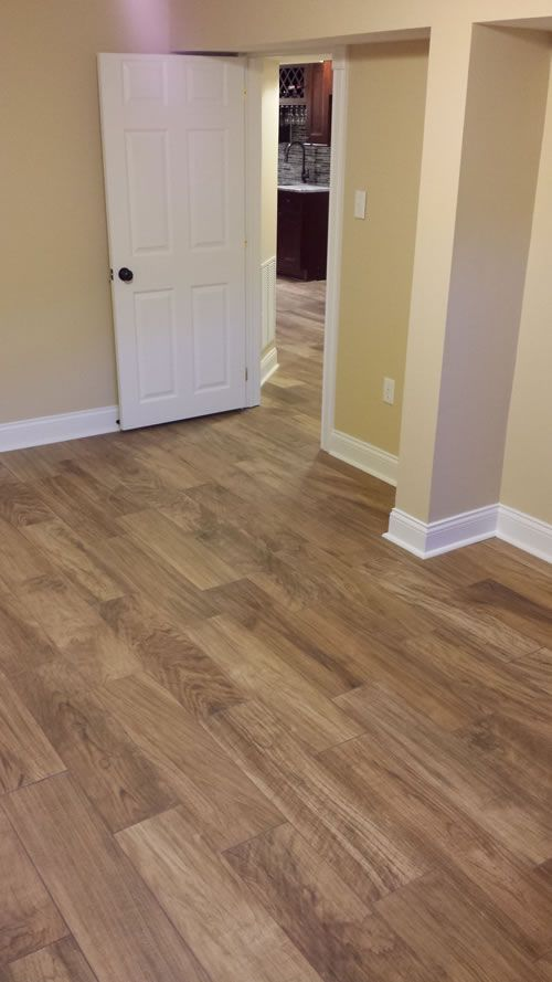 Wood Look Tile Great For Pets Maintenance Radiant Heat And Sun