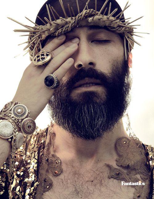 jesus shoot - glam & crown of thorns