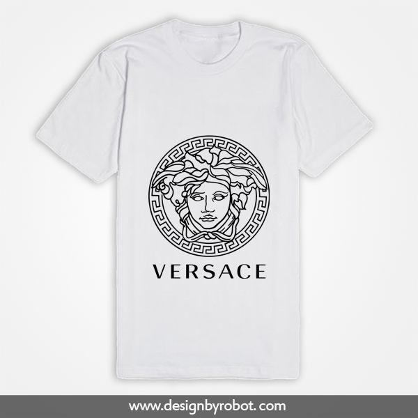 Versace White T Shirt