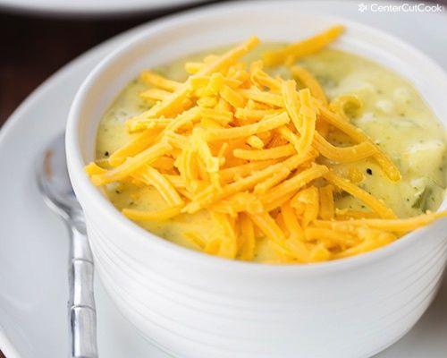 how to make broccoli cheese soup with velveeta