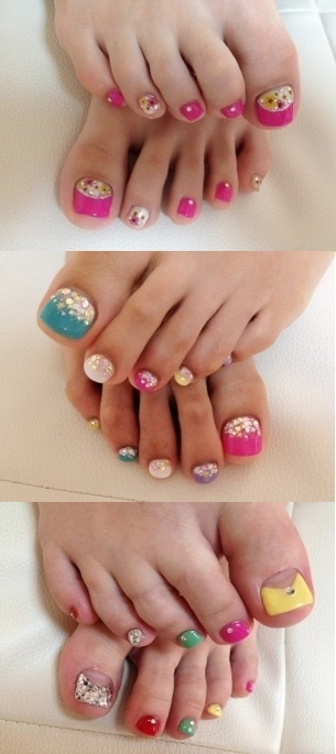 Pretty Pedicure Nail Art Design Ideas For Your Pretty Little Toes! THE MOST POPULAR NAILS AND POLISH #nails #polish #Manicure #stylish