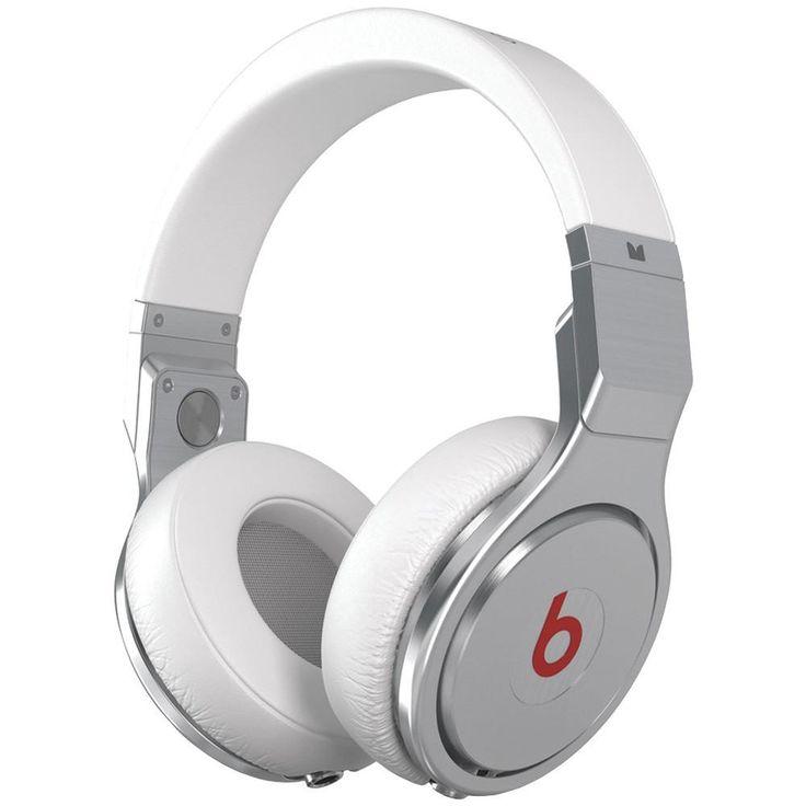 MONSTER 129480 Beats Pro High-Performance Headphones (White)