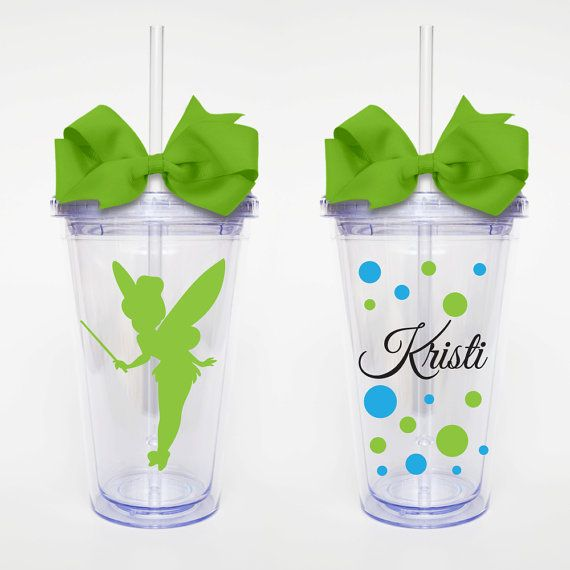 Tinkerbelle Disney  Acrylic Tumbler Personalized Cup