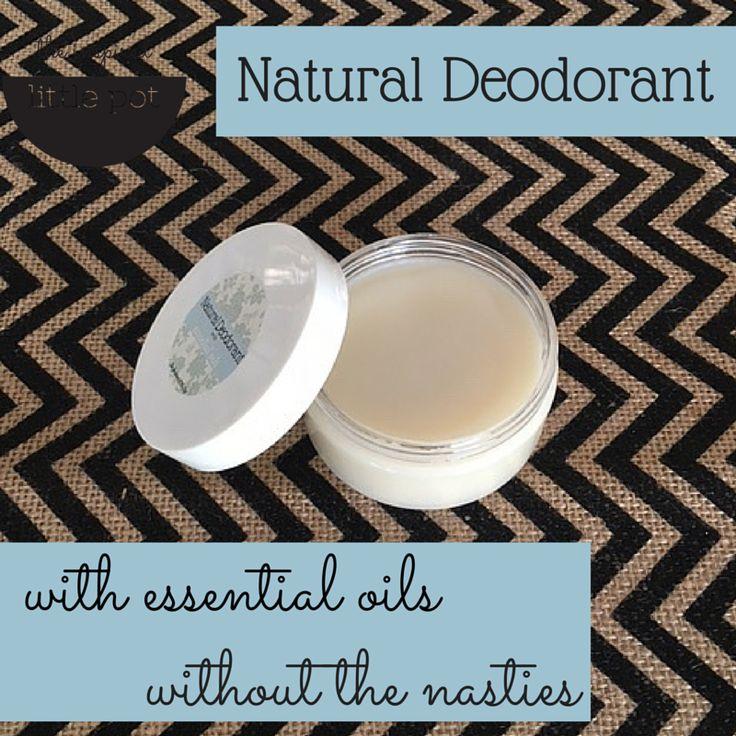 Natural Deodorant with Essential Oils