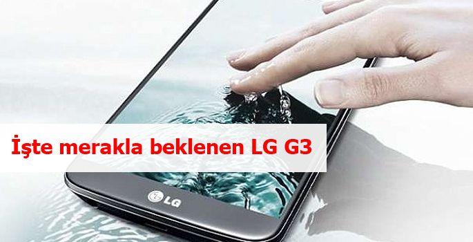 Hali hazırda birçok özelliği ve tasarımına dair detaylar sızmış olsa da, LG'nin G2 ile yakaladığı başarının ardından G3 için de teknoloji çevrelerinde oluşan beklenti...