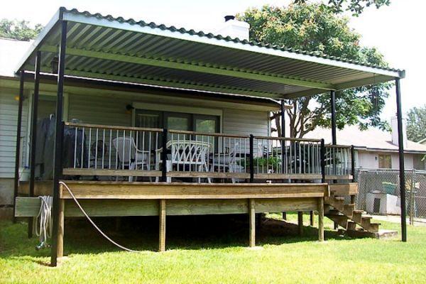 Patio Awning Metal Patio Building Metal Patio Covers Patio Patio Railing
