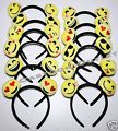 12 PC EMOJI HEAD BANDS PARTY FAVORS G...