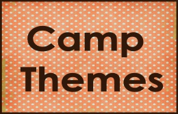summer camp themes and game ideas