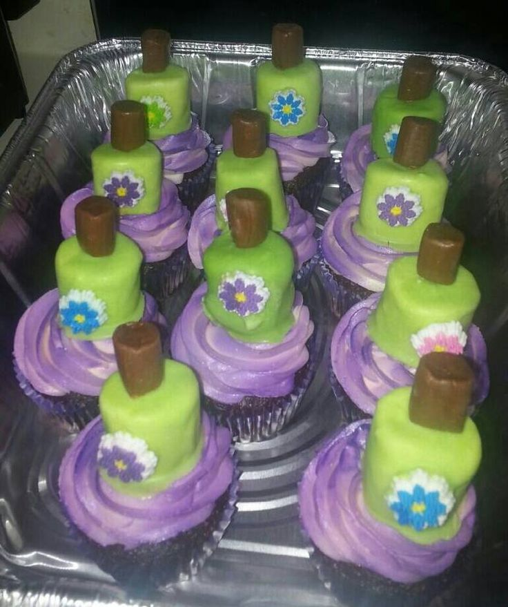 Cake Nail Polish Designs: 17 Best Images About Nail Polish Cupcakes & Cakes On