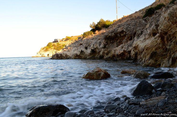 """Secret"" beach close to Agia Marina, Aegina"