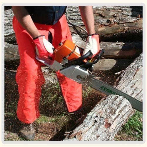 """Product review for Forester Chainsaw Apron Chaps with Pocket, Orange 36 Length by Forester. 37"""" Apron Style Chainsaw Chaps Orange CHAP437-O Meets the Leg Protection Requirements for OSHA 1910.266 Standards for Chainsaw Operators • Meets ASTM F1897 Standard Specification for Leg Protection for Chainsaw Users (ASTM F1897-2008 39JY) • Multiple Sizes • Water Resistant • Oil Resistant..."""
