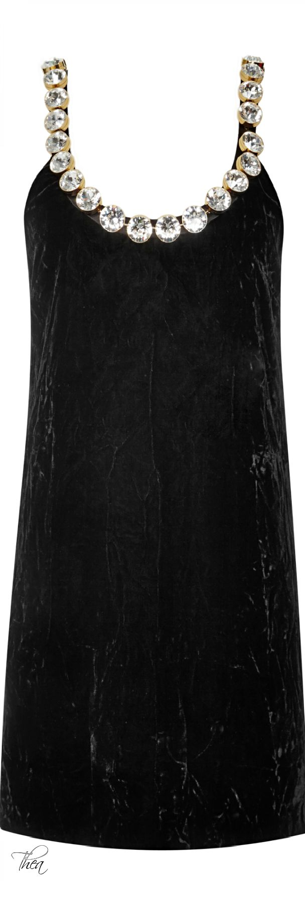 Marc Jacobs ● Resort 2015, Crushed Velvet Dress With Swarovski Crystals. Absolutely gorgeous.