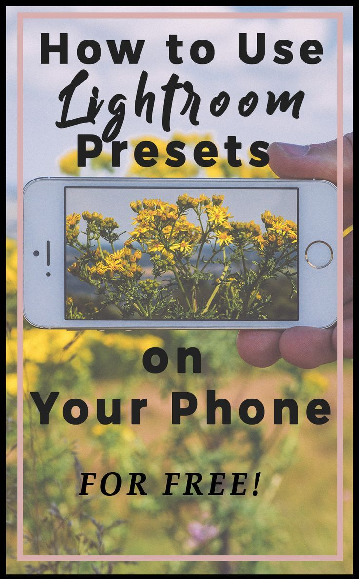 How to Use Lightroom Presets on Your Mobile (FREE!) Plus New Presets for Travel and Lifestyle Photography - Use Lightroom on your phone, now easier than ever! Learn to use the best app for editing photos on your phone, free! #lightroom #lightroompresets #photography #photoediting #instagram